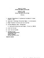 WWU Board minutes 1976 November