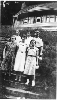 1936 Eighth Grade Students