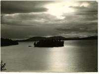 Island in Chuckanut Bay