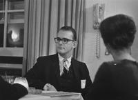1967 Reception in Washington D.C.: Dick Hastings
