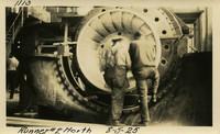 Lower Baker River dam construction 1925-08-05 Runner #2 North
