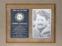 Hall of Fame Plaque: Dominic Garguile, Coach, Class of 1996