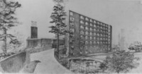 1965 Mathes Hall: Rendering