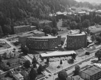 1968 Aerial View: North Campus