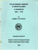 Waterborne Commerce of British Columbia and Washington