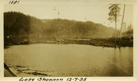 Lower Baker River dam construction 1925-12-07 Lake Shannon