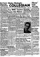 Western Washington Collegian - 1951 January 5