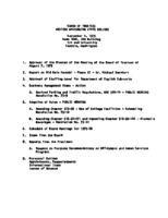 WWU Board minutes 1975 September