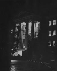 1955 Edens Hall: At Night
