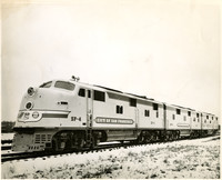 """Streamlined Union Pacific diesel engine """"City of San Francisco"""""""