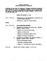 WWU Board minutes 1990 August