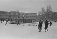 1969 Students in Snowstorm