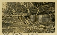 Lower Baker River dam construction 1925-02-12 Run #12