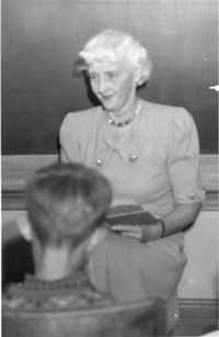 1945 Priscilla Kinsman Teaching