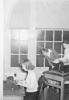 1943 Campus School Ditto Room