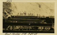 Lower Baker River dam construction 1925-07-25 Roof Purlins P.H.
