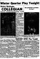 Western Washington Collegian - 1955 February 25