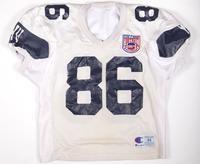 Football Jersey: Jersey #86, Chris Nicholl, 1993/1996