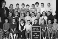 1966 Kindergarten Class with Synva Nicol