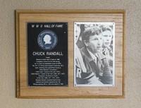 Hall of Fame Plaque: Chuck Randall, Coach, Class of 1981