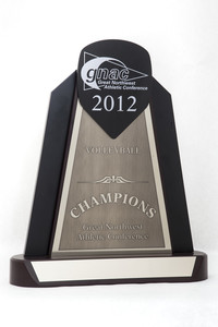 Volleyball (Women's) Trophy: GNAC Champions, 2012
