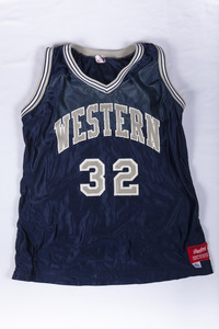 Basketball (Women's) Jersey: #32, Celeste Hill, 1996/2000
