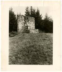 Old Forge. Remains of the British shop at English Camp. San Juan Island, Washington