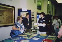 2007 Reunion--Anita (Vosti) Johnson, John Vosti and Marian Alexander in Special Collections