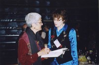 2007 Reunion--Catharine Stimpson and Marian Alexander at the Banquet