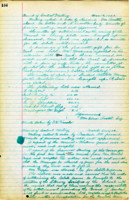 AS Board Minutes - 1922 March