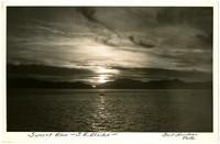 Sunset Glow - Southeast Alaska