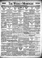 Weekly Messenger - 1927 April 8