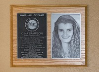 Hall of Fame Plaque: Gina Sampson, Basketball, Class of 2010