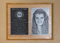Hall of Fame Plaque: Gina Sampson, Basketball, Class of 2010