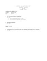 WWU Board of Trustees Packet: 2016-10-13
