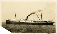 """Large steel steamship """"Windber"""" of the Pacific American Fisheries fleet"""