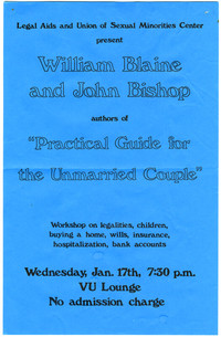 William Blaine and John Bishop