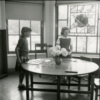 1959 Students With Puzzle