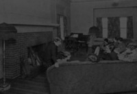 1929 Edens Hall: Blue Room