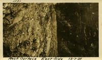 Lower Baker River dam construction 1925-12-07 Rock Surface East Side