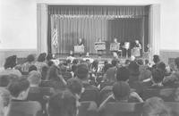 1943 Children Sharing Their Work In The Auditorium