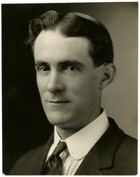Studio portrait of Claude Clark