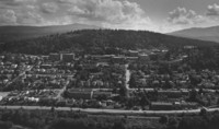 1976 Aerial View: From the West