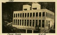 Lower Baker River dam construction 1925-12-08 Power House