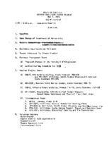 WWU Board minutes 1972 May