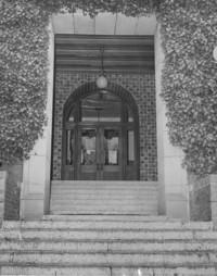 1950 Main Building: Entrance