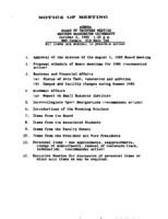 WWU Board minutes 1985 October