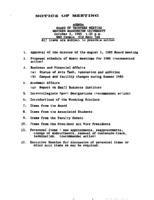 WWU Board minutes 1985 October