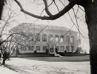 1938 Library: North Facade