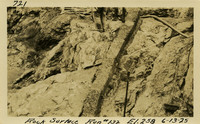 Lower Baker River dam construction 1925-06-13 Rock Surface Run #132 El.258